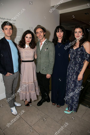 Stock Photo of Emmet Kirwan (Eamon), Elaine Cassidy (Alice), David Dawson (Casimir), Eileen Walsh (Judith) and Aisling Loftus (Claire)