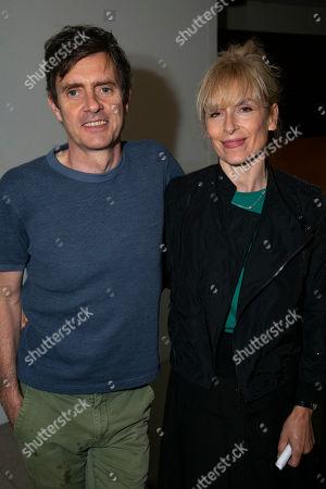 Paul Higgins (Tom Hoffnung) and Amelia Bullmore