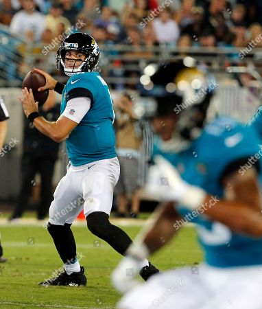 Beautiful Jacksonville Jaguars Quarterback Cody Kessler Looks For A Receiver Against  The New Orleans Saints During The ...