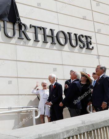 Editorial photo of Cochran Courthouse, Jackson, USA - 09 Aug 2018