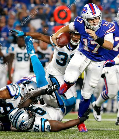 Editorial image of Panthers Bills Football, Orchard Park, USA - 09 Aug 2018