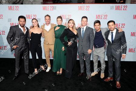 Sam Medina, Ronda Rousey, Peter Berg, Director/Producer/Actor, Lauren Cohan, CL, Mark Wahlberg, Actor/Producer, Iko Uwais, Carlo Alban