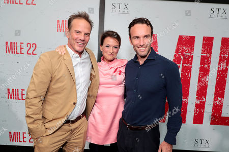 Peter Berg, Director/Producer/Actor, Lea Carpenter, Writer, Elliot Ackerman