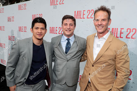 Iko Uwais, Matthew Rhodes, Executive Producer, Peter Berg, Director/Producer/Actor,
