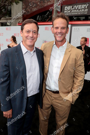 Adam Fogelson, Chairman of STXfilms, Peter Berg, Director/Producer/Actor,