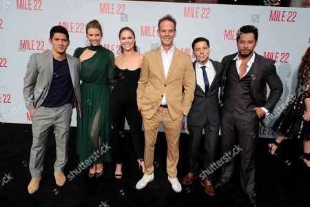 Iko Uwais, Lauren Cohan, Ronda Rousey, Peter Berg, Director/Producer/Actor, Carlo Alban, Sam Medina