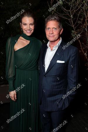 Lauren Cohan, Robert Simonds, Chairman and CEO, STX Entertainment,