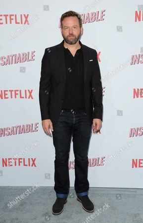 """Stock Picture of Dallas Roberts arrives at the LA Premiere of """"Insatiable"""" at the Arclight Hollywood, in Los Angeles"""