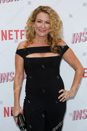 """Stock Photo of Sarah Colonna arrives at the LA Premiere of """"Insatiable"""" at the Arclight Hollywood, in Los Angeles"""