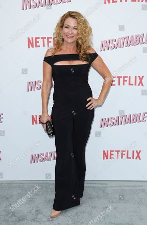 """Sarah Colonna arrives at the LA Premiere of """"Insatiable"""" at the Arclight Hollywood, in Los Angeles"""