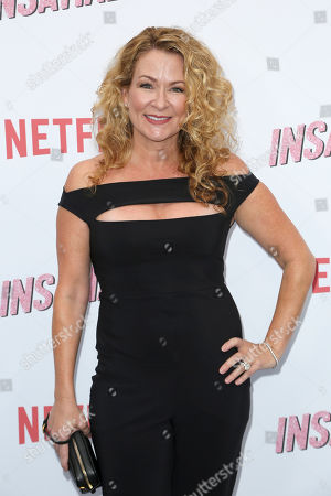 """Stock Picture of Sarah Colonna arrives at the LA Premiere of """"Insatiable"""" at the Arclight Hollywood, in Los Angeles"""