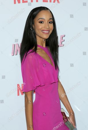 """Erinn Westbrook arrives at the LA Premiere of """"Insatiable"""" at the Arclight Hollywood, in Los Angeles"""