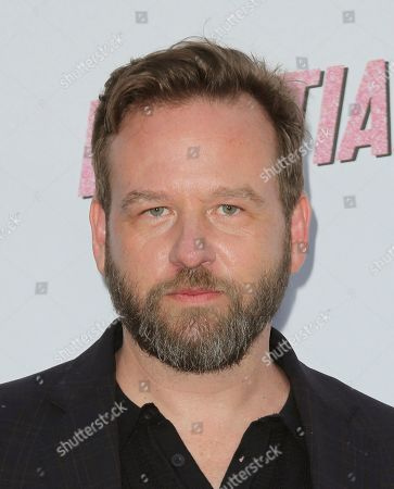 """Stock Photo of Dallas Roberts arrives at the LA Premiere of """"Insatiable"""" at the Arclight Hollywood, in Los Angeles"""