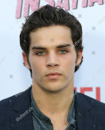 """Stock Picture of James Lastovic arrives at the LA Premiere of """"Insatiable"""" at the Arclight Hollywood, in Los Angeles"""