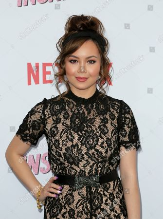 "Stock Photo of Anna Maria Perez de Tagle arrives at the LA Premiere of ""Insatiable"" at the Arclight Hollywood, in Los Angeles"