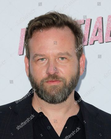 """Dallas Roberts arrives at the LA Premiere of """"Insatiable"""" at the Arclight Hollywood, in Los Angeles"""