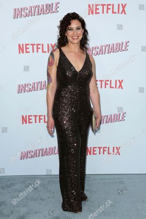 "Stock Picture of Lauren Gussis arrives at the LA Premiere of ""Insatiable"" at the Arclight Hollywood, in Los Angeles"
