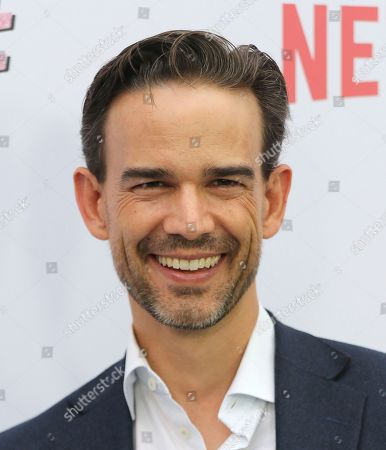 "Christopher Gorham arrives at the LA Premiere of ""Insatiable"" at the Arclight Hollywood, in Los Angeles"