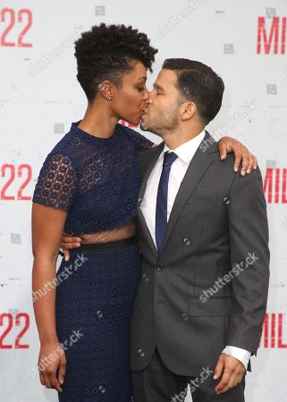 Editorial photo of 'Mile 22' film premiere, Arrivals, Los Angeles, USA - 09 Aug 2018
