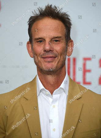 "Stock Picture of Peter Berg arrives at the Los Angeles premiere of ""Mile 22"" on in Los Angeles"