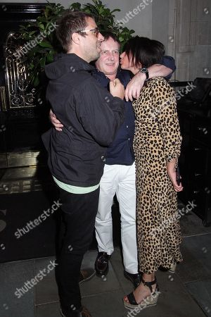 Liam Gallagher and Debbie Gwyther at Scott's