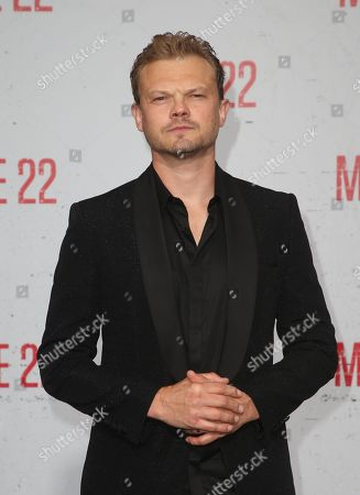 Editorial picture of 'Mile 22' film premiere, Arrivals, Los Angeles, USA - 09 Aug 2018