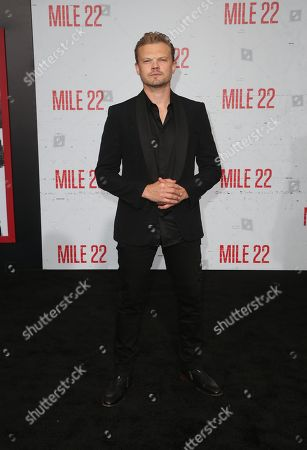 Editorial image of 'Mile 22' film premiere, Arrivals, Los Angeles, USA - 09 Aug 2018