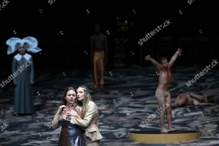 Editorial picture of L' incoronazione di Poppea rehearsal at Salzburg Festival, Austria - 09 Aug 2018