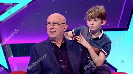 Ep4 Pictured: Ken Bruce and his son Charlie.