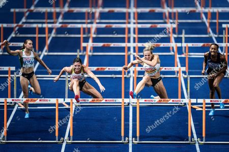 Pamela Dutkiewicz and Cindy Roleder (Germany) competes during the European Championships 2018, at Olympic Stadium in Berlin