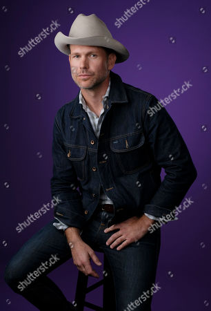 """Matthew Davis, a cast member in the CW series """"Legacies,"""" poses for a portrait during the 2018 Television Critics Association Summer Press Tour, in Beverly Hills, Calif"""