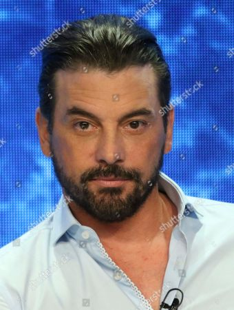 """Skeet Ulrich participates in the """"Riverdale"""" panel during the CW Television Critics Association Summer Press Tour at The Beverly Hilton hotel, in Beverly Hills, Calif"""