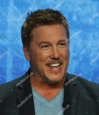 "Stock Image of Lochlyn Munro participates in the ""Riverdale"" panel during the CW Television Critics Association Summer Press Tour at The Beverly Hilton hotel, in Beverly Hills, Calif"