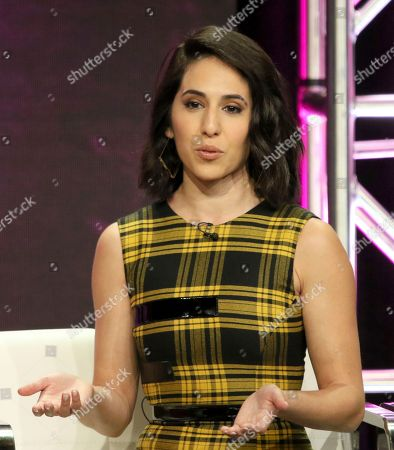 "Gabrielle Ruiz participates in the ""Crazy Ex-Girlfriend"" panel during the C W Stoneking Television Critics Association Summer Press Tour at The Beverly Hilton hotel, in Beverly Hills, Calif"
