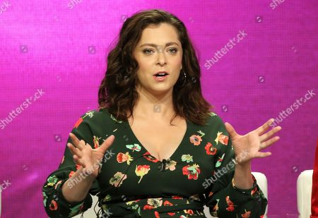 Editorial image of 2018 Summer TCA - CW, 'Crazy Ex-Girlfriend', Beverly Hills, USA - 06 Aug 2018