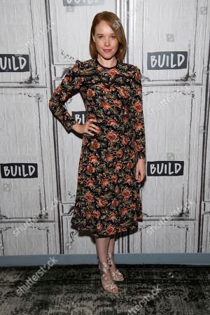 """Stock Photo of Jessica Keenan Wynn participates in the BUILD Speaker Series to discuss """"Mamma Mia! Here We Go Again"""" at AOL Studios, in New York"""