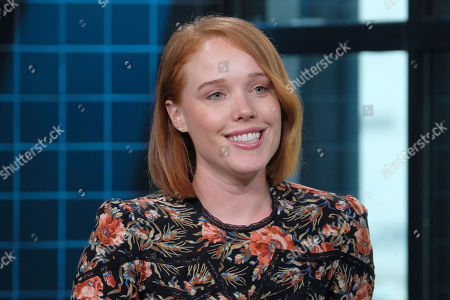 """Stock Picture of Jessica Keenan Wynn participates in the BUILD Speaker Series to discuss """"Mamma Mia! Here We Go Again"""" at AOL Studios, in New York"""