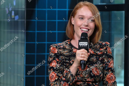 """Jessica Keenan Wynn participates in the BUILD Speaker Series to discuss """"Mamma Mia! Here We Go Again"""" at AOL Studios, in New York"""