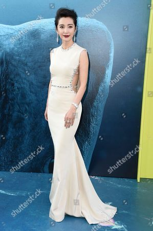 "Li Bingbing attends the LA Premiere of ""The Meg"" at TCL Chinese Theatre, in Los Angeles"