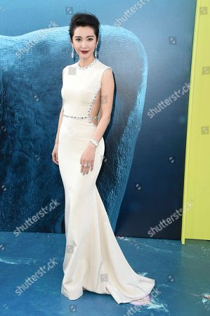 "Stock Image of Li Bingbing attends the LA Premiere of ""The Meg"" at TCL Chinese Theatre, in Los Angeles"