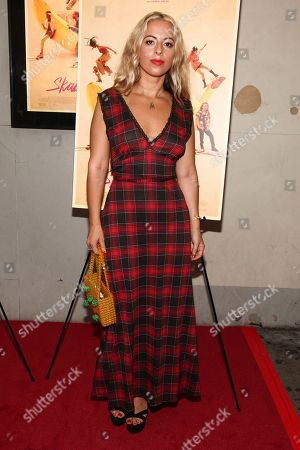 "Crystal Moselle attends the premiere of ""Skate Kitchen"" at the IFC Center, in New York"