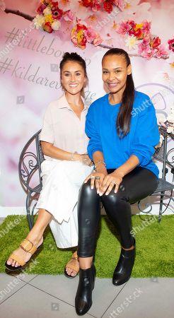 Stock Picture of Nikki Whelan and Samantha Mumba