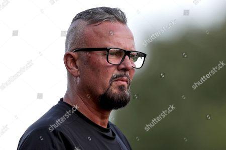Dundalk vs Cobh Ramblers. Cobh manager Stephen Henderson