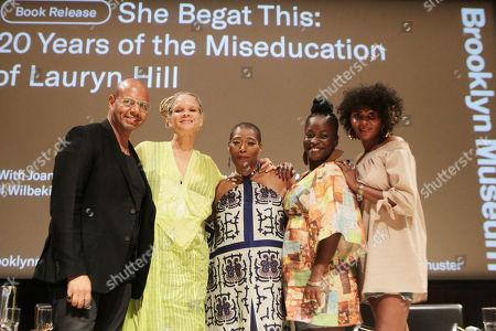 Stock Photo of Emil Wilbekin, Michaela Angela Davis, Joan Morgan, Dr. Yaba Blay and Kierna Mayo