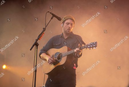 Robin Pecknold of Fleet Foxes performing at the Foow Festival in Helsinki,Finland