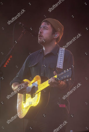 Stock Picture of Robin Pecknold of Fleet Foxes performing at the Foow Festival in Helsinki,Finland