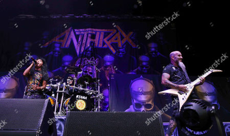 Editorial photo of Slayer In Concert - , Atlanta, USA - 10 Aug 2018