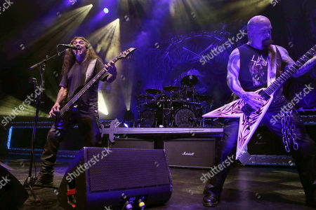 Editorial picture of Slayer In Concert - , Atlanta, USA - 10 Aug 2018