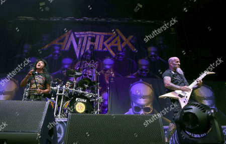 Editorial image of Slayer In Concert - , Atlanta, USA - 10 Aug 2018