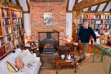 Antony Beevor - 'My Haven'- his Writing room. 16.4.2018